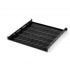 Полка для оборудования стационарная с отв для вентиляции 1U400, RAL9005