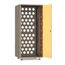 Рэковый шкаф, закрытый SDC-26U545, 1.2мм, RAL7035, дверь стеклянная