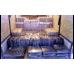 Ящик рэковый выдвижной 19, 3U с замком, черный муар