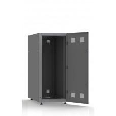 Шкаф серверный SC27U10, RAL7035, с 1-й дверью сталь глухая, задняя и боковые стенки съемные