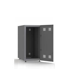 Шкаф серверный SC23U10, RAL7035, с 1-й дверью сталь глухая, задняя и боковые стенки съемные