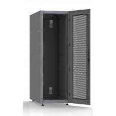 Шкаф серверный SC38U10, RAL7035, с 1-й дверью сталь перф, задняя и боковые стенки съемные