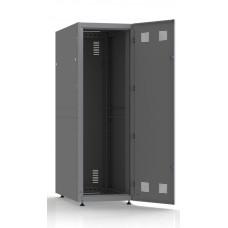 Шкаф серверный SC38U10, RAL7035, с 1-й дверью сталь глухая, задняя и боковые стенки съемные