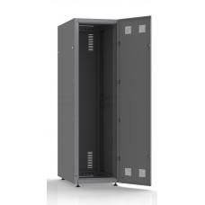 Шкаф серверный SC42U10, RAL7035, с 1-й дверью сталь глухая, задняя и боковые стенки съемные