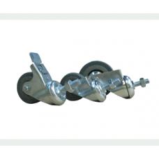 Комплект колес для рэкового шкафа, 75мм, A-SDR-017