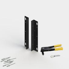Комплект кронштейнов для настенной установки шкафа SDC (стойки SDR)